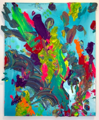 Combust, 16×20 inches, acrylic on canvas, 2014