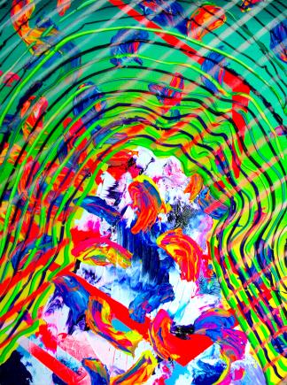 Sherbert Mounatin, 18x24, acrylic on panel, 2016