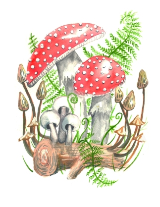 woodland 2 print